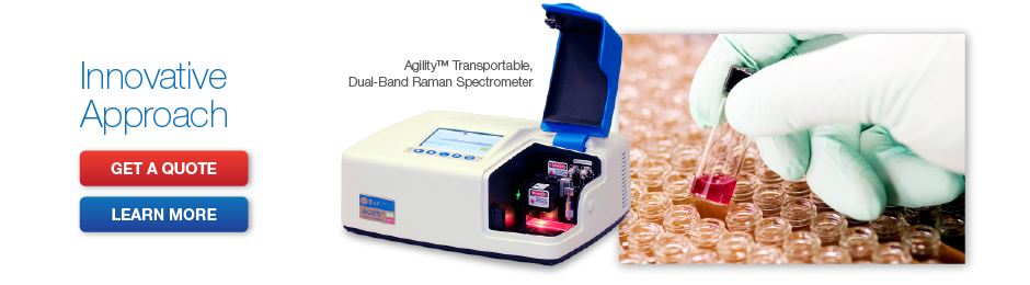 Agility Transportable, Dual-Band Raman Spectrometer