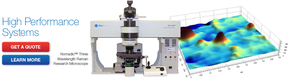 Nomadic Three Wavelength Raman Research Microscope