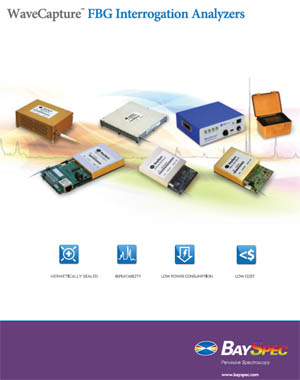 BaySpec's WaveCapture™ Fiber Optic Sensing Brochure