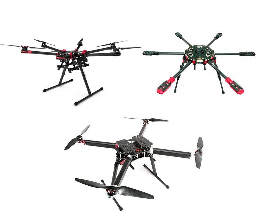 UAV platforms for OCI hyperspectralImager